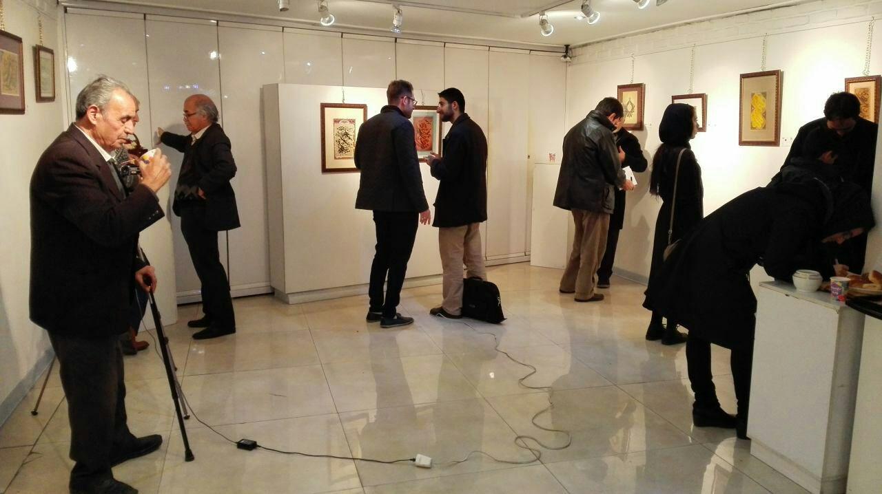 نمایشگاه آثار خوشنویسی استاد امیر عاملی