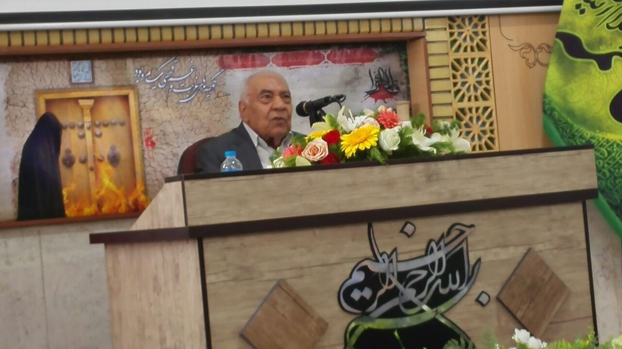 مراسم نکوداشت و تجلیل از پروفسور جواد صفی نژاد در روستای طالب آباد