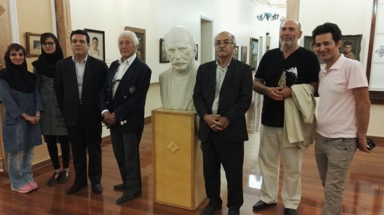 پاول لویی ربورا ، کمیته نقاشی انجمن مجموعه داران ایران